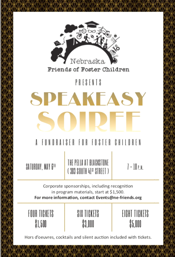 Speakeasy Soiree Sponsor